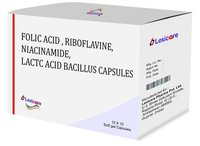 Folic Acid and Riboflavine and Niacinamide and Lactac Acid Bacillus Softgel Capsules
