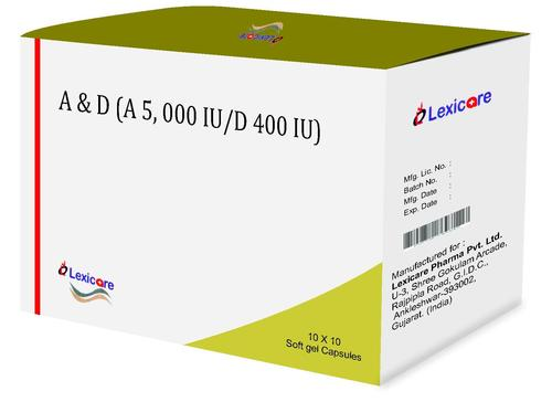 A and D Softgel Capsules