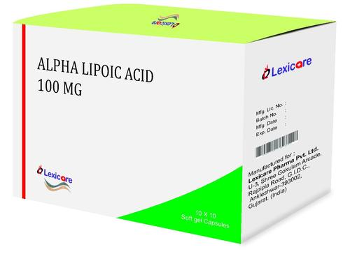 Alpha Lipoic Acid Softgel Capsules