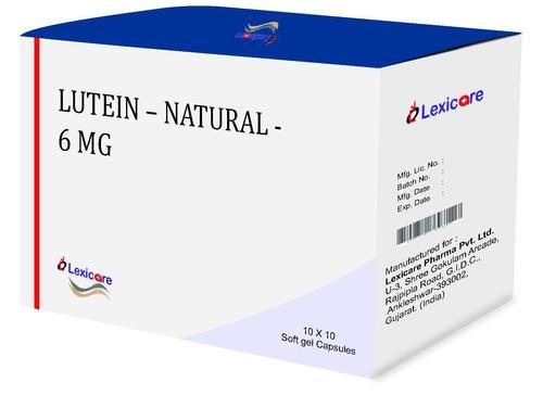 Lutein  Natural Softgel Capsules