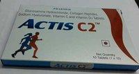 glucosamine hydrocloride collagen peptidessodium hyalluronate vitamin c vitamin d3 tablets