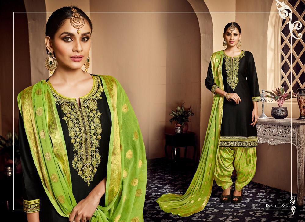 Fancy Designer Patiyala Suits