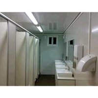 Industrial portable toilet cabins