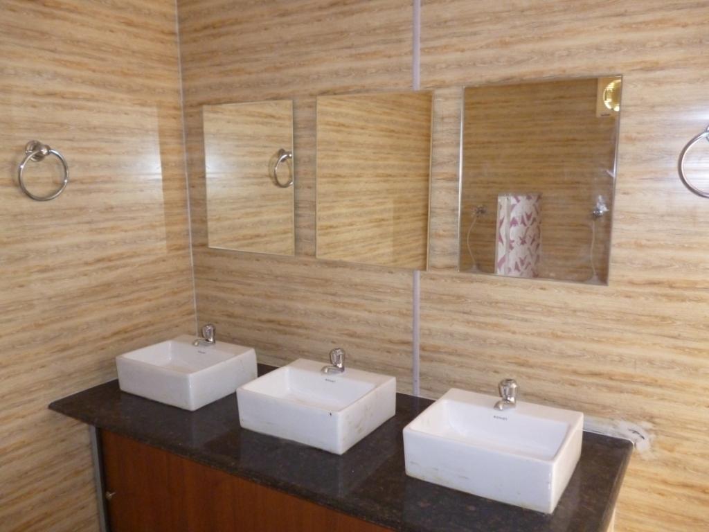 Industrial portable toilet cabins