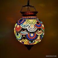 Mosaic Hanging Lamp Chandelier Mosaic Home Hanging