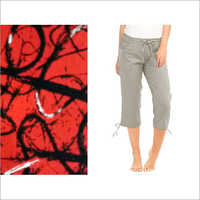 Mens 3/4th Pant Fabric