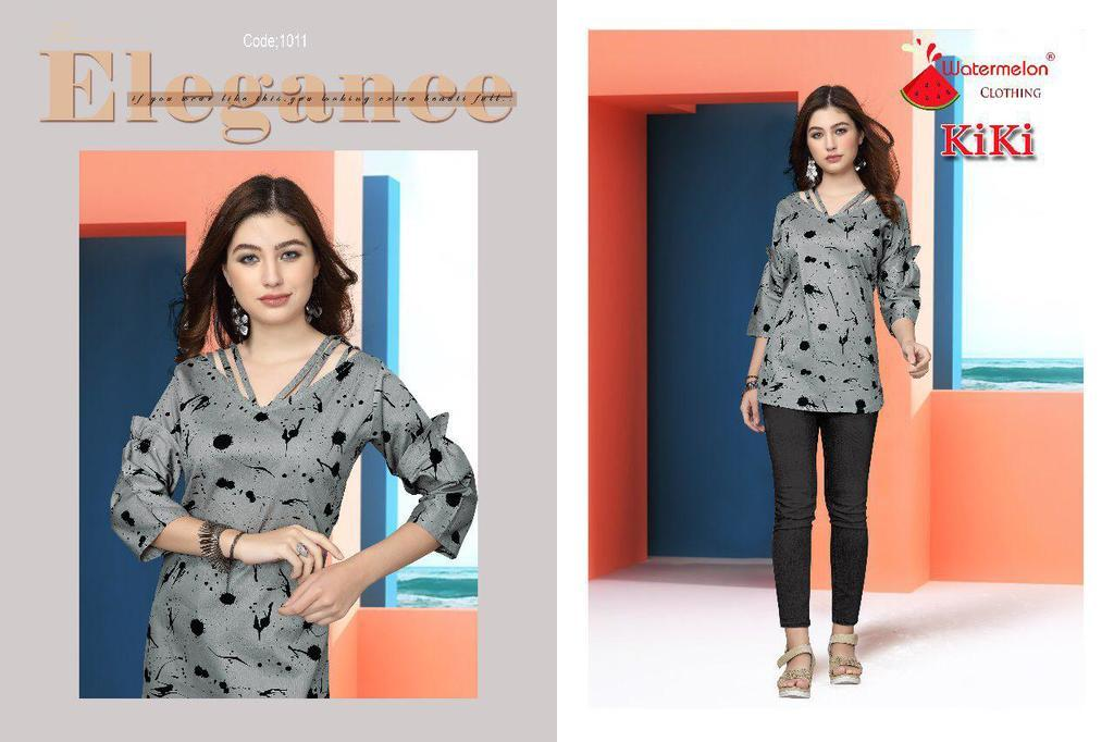 Short Cotton Printed Kurtis