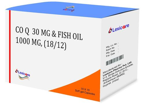 Fish Oil Softgel Capsules
