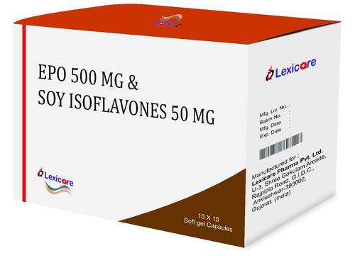 EPO and Soya Isoflavones Softgel Capsules