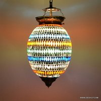 Wall Light Hanging Lamp Glass Home Decor Pendant Light Hanging