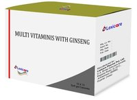 Multivitamin and Ginseng Softgel Capsules