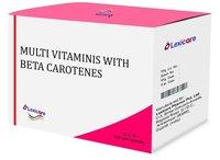 Multivitamin and Beta Carotene Softgel Capsules