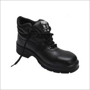 Tiger Loepard S1 BG High Ankle Steel Toe Black Safety Shoes