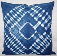 Blue Tie &  Dye Cushion