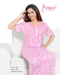 BIZI LIZI PRINTED NIGHTY
