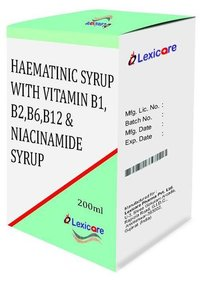 Haematinic and Vitamin B-complex and Niacinamide Syurp