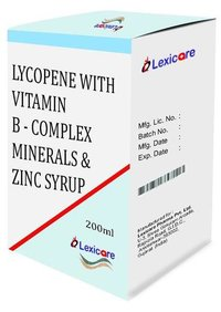 Lycopene and Vitamin B-Complex and Minerals and Zinc Syurp