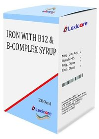 Iron and Vitamin B12 and B-Complex Syrup