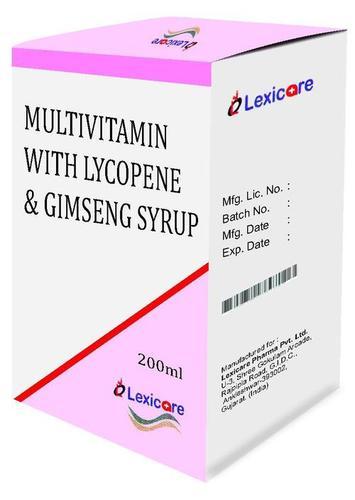 Multivitamine and Lycopene and Gimseng Syrup