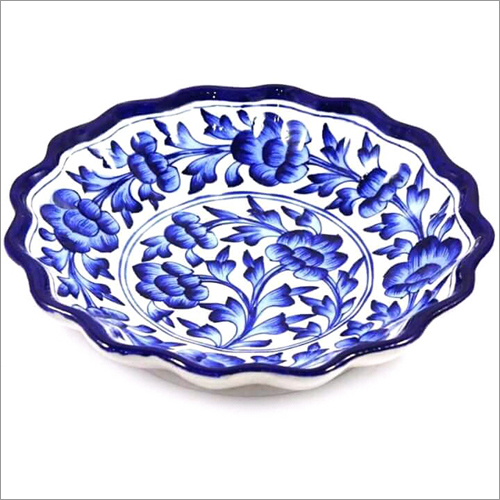 Ceramic Pottery Lotus Plate