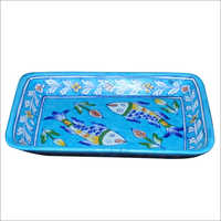 Pottery Rectangular Tray