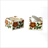 Decorative Pottery T Light Candle