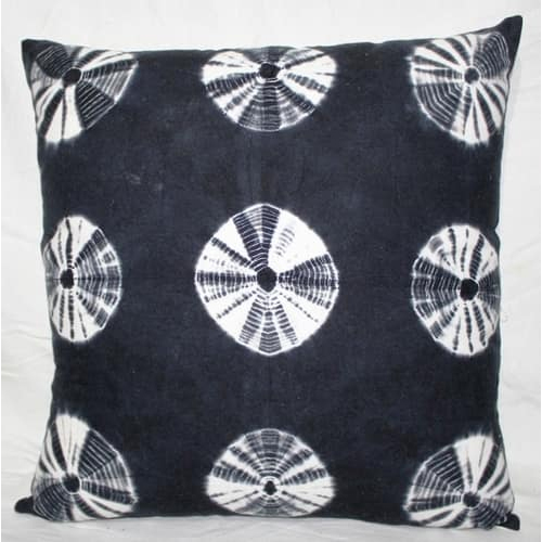 Circles Design Tie & Dye Cushion