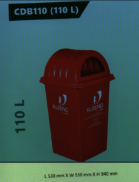 Cello Plastic Dustbin