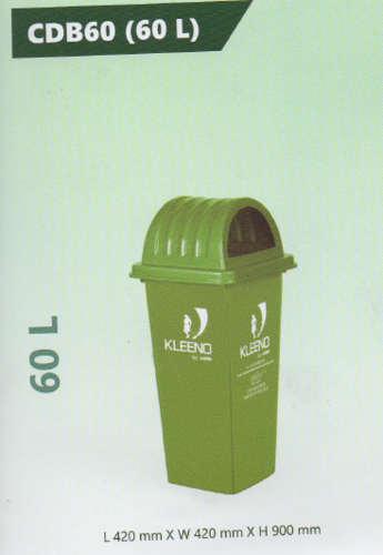 Cello Plastic Dustbin 60 L