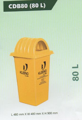 Cello Plastic Dustbin 80L