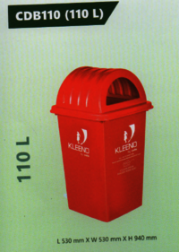Cello Plastic Dustbin 110L