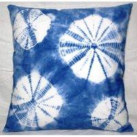 Blue Tie & Dye Cushion
