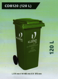 Cello Plastic Dustbin 120 L