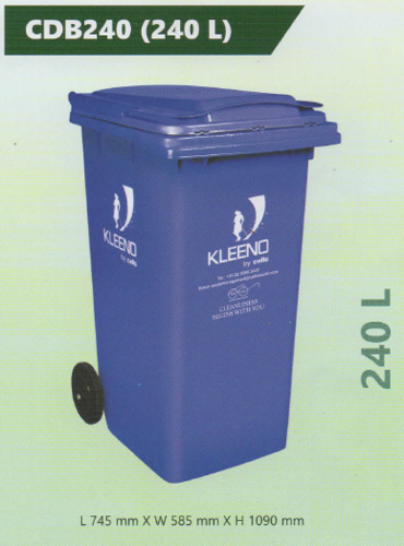 Cello Plastic Dustbin 240 L