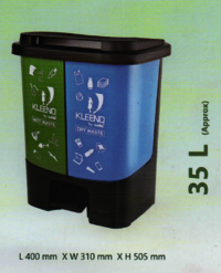 Cello Plastic Dustbin 35 L