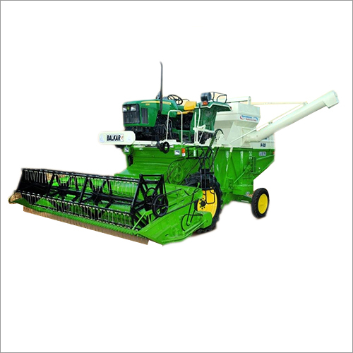 Tractor Mounted Mini Combine Harvester