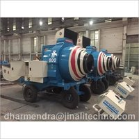 Diesel Engine Universal Concrete Mixer