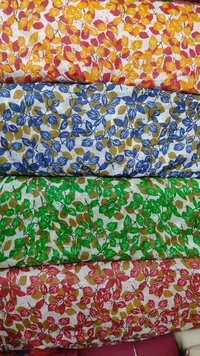 Cotton Dupatta Printed Fabric