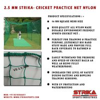 Cricket Nylon Net