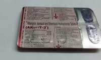 rifampicin isoniazid ethambutol hydrocloride tablets
