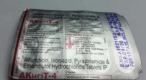 rifampicin isoniazid pyrazinamid ethambutol hydrocloride tablets