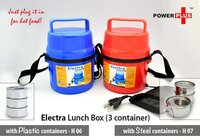 Electric lunch box 3 container