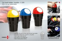 CAR TRASH HOLDER / DUSTBIN (FITS IN CAR CUP / BOTTLE HOLDER)