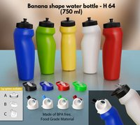 BANANA SHAPE WATER BOTTLE (750 ML)