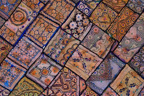 Rajasthani Patch Work Fabric