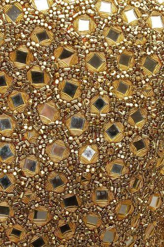 Mirror Work Fabric