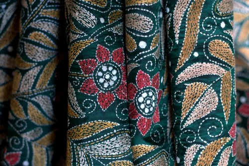 Kantha Embroidery Service / Kantha Work / Kantha Embroidered Fabric