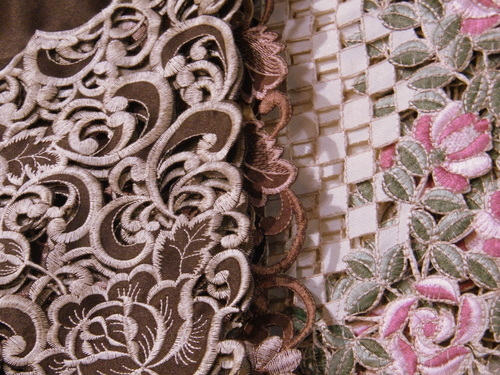 Cutwork Machine Embroidery / Cutwork Machine Embroidery Fabric