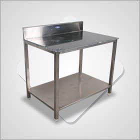 Chappati Rolling Table with Marble Top