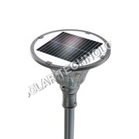 2000 Lumens Fully Automatic All-In-One LED Solar Courtyard/Landscape Light